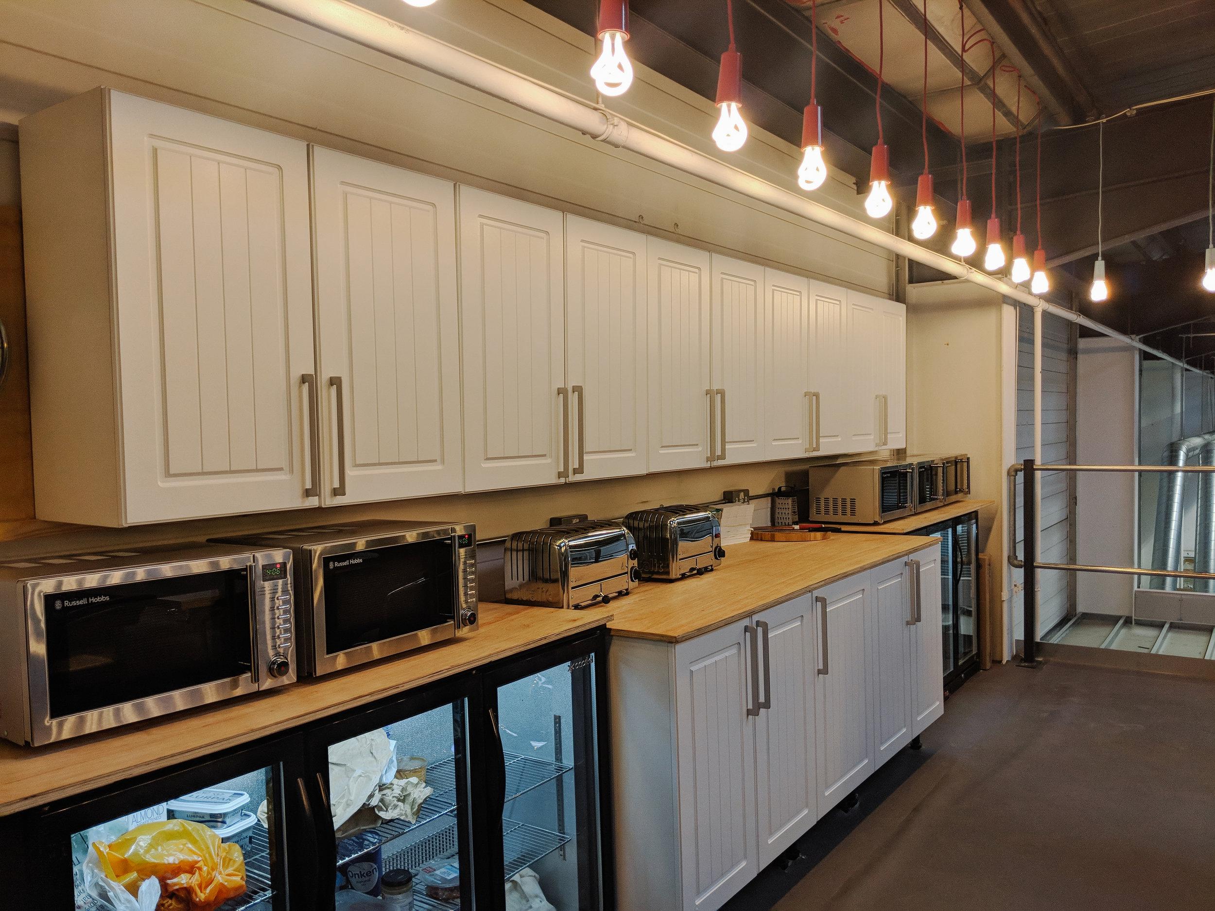 Accessorised Kitchen Area