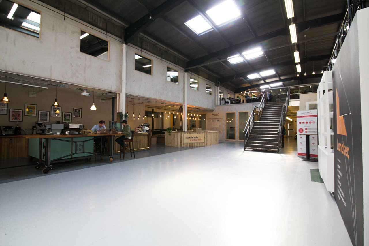 Our Great Hall, with reception, a bar and a coffee shop