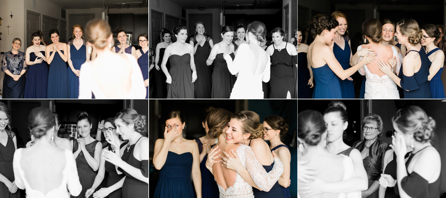 thevondys.com | Bridal Party First Look | Dallas Wedding Photography | The Vondys