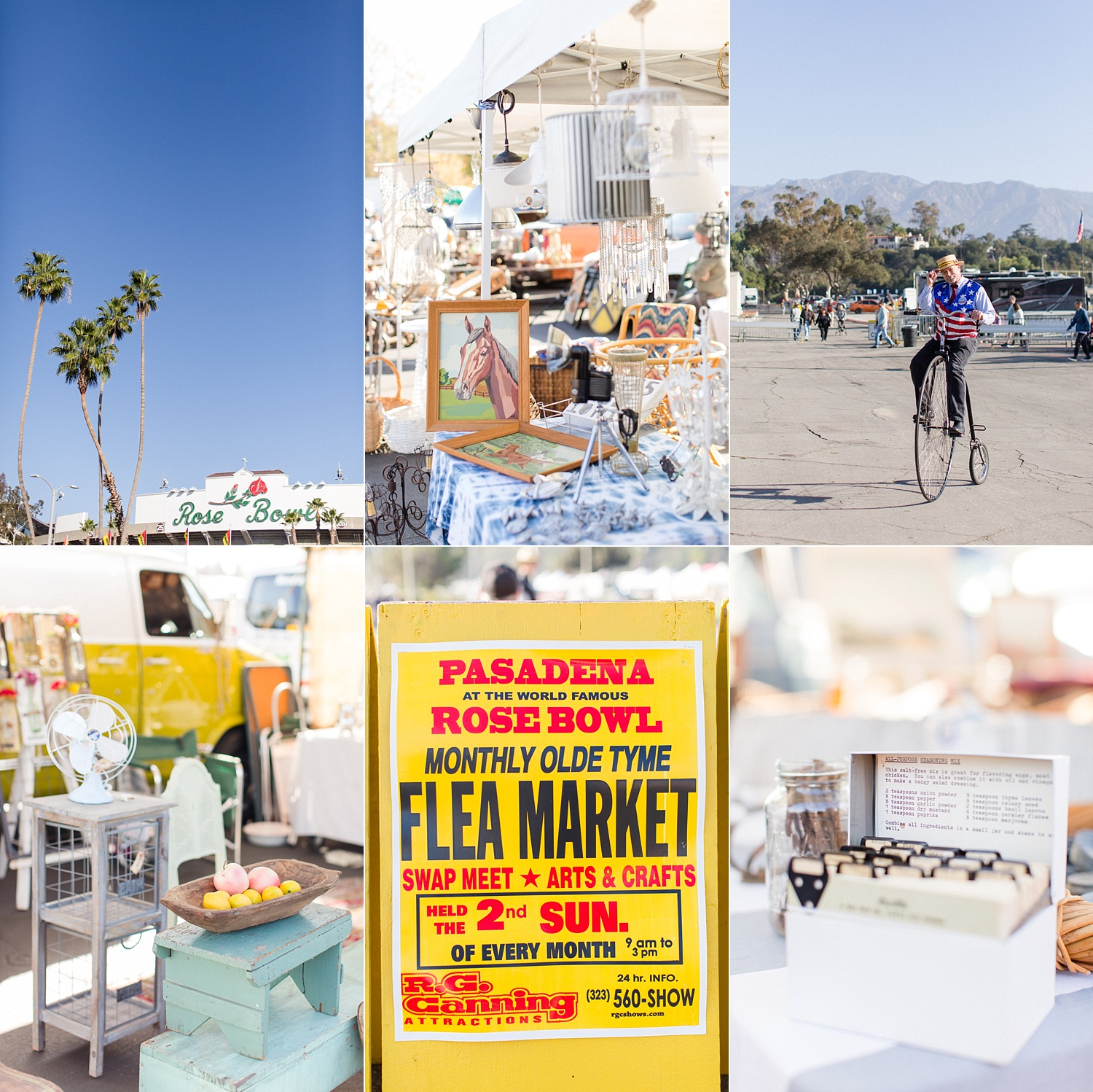 thevondys.com | Rose Bowl Flea Market | Pasadena Wedding Photographer | The Vondys