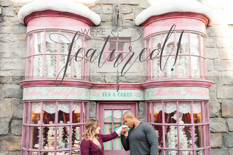 thevondys.com   Harry Potter Engagement   Los Angeles Wedding Photographer   The Vondys