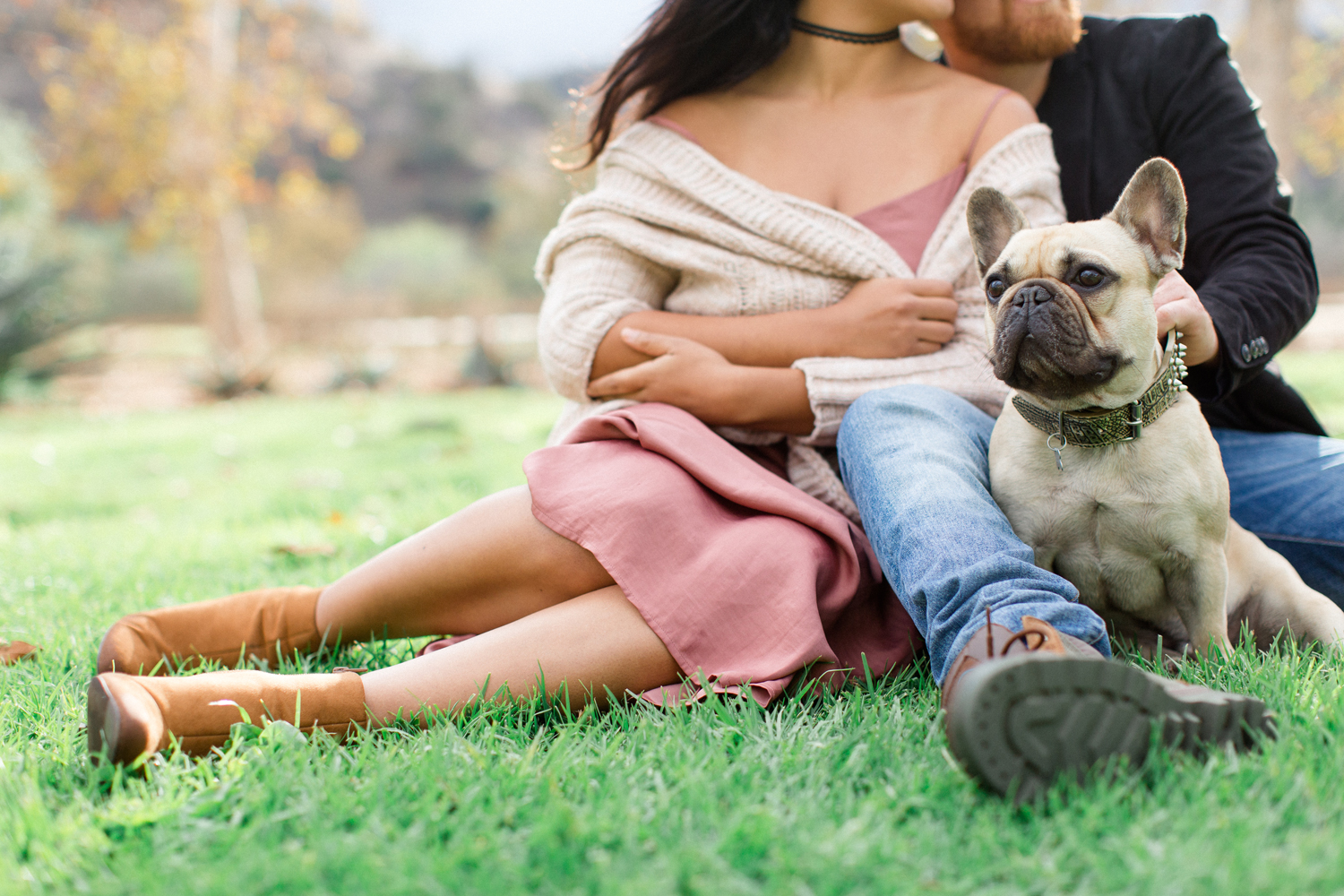 the vondys | how to personalize your engagement session tips | dog engagement