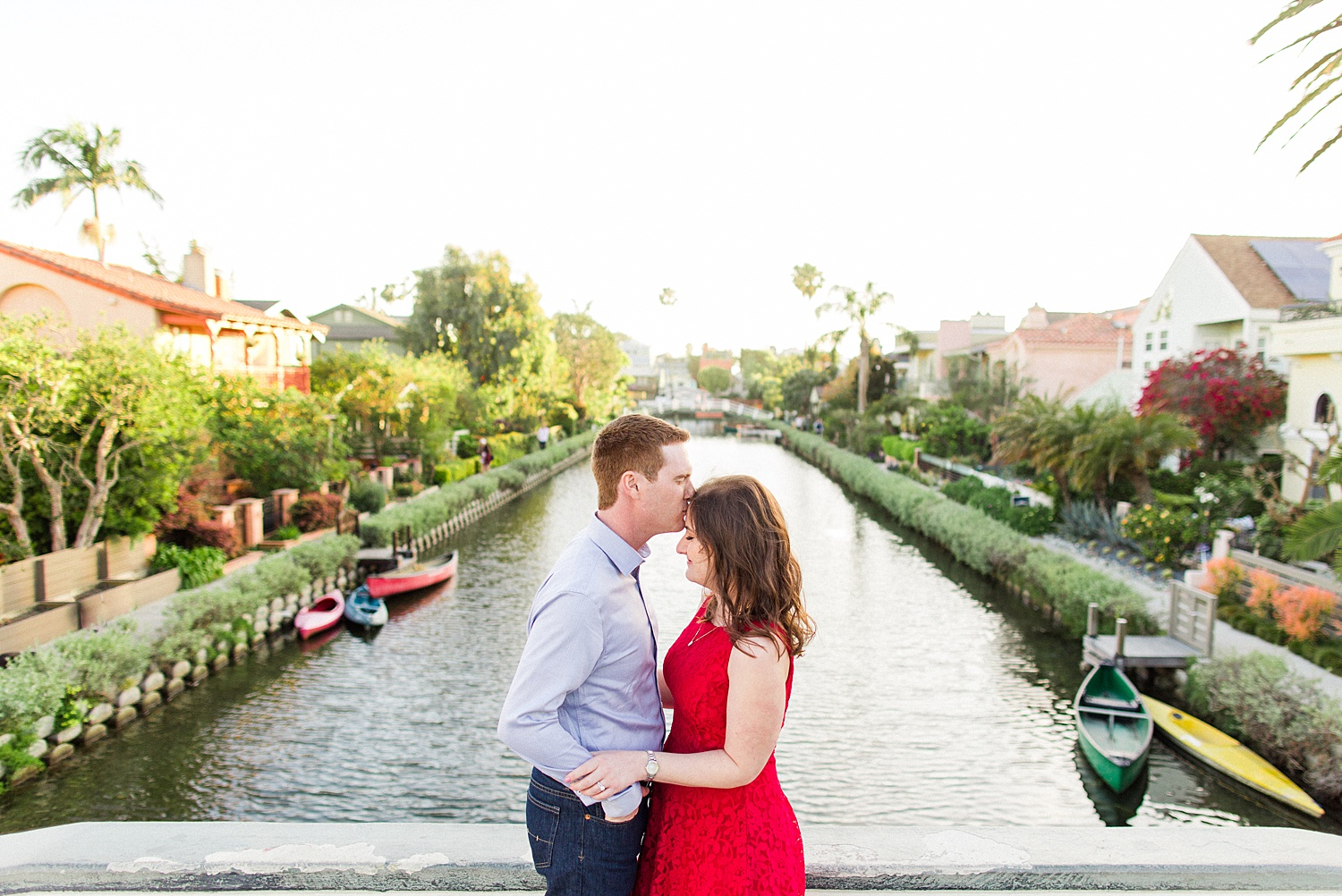 thevondys.com | Los Angeles Engagement | Venice Canals | The Vondys