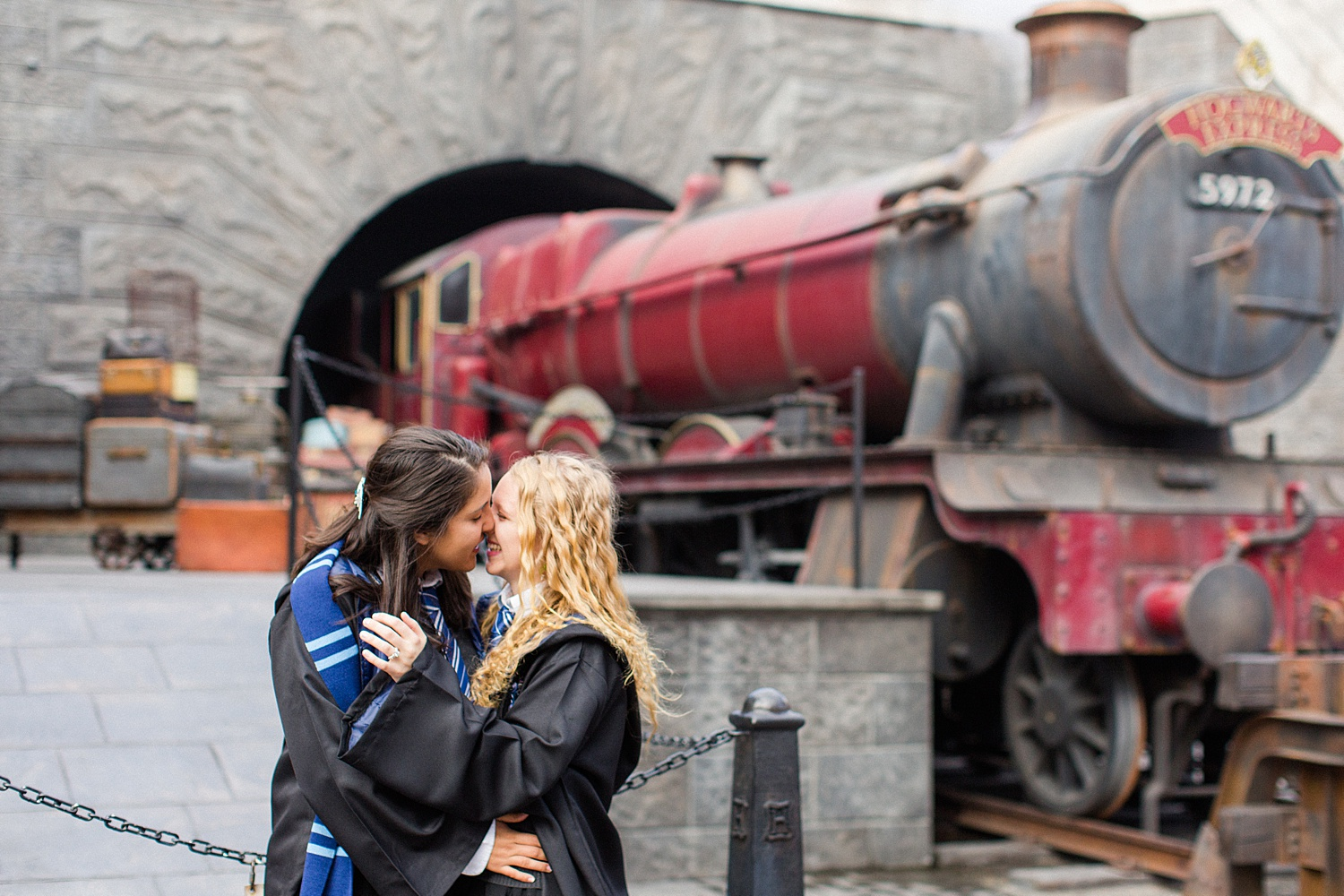 thevondys.com | Harry Potter World Engagement | Universal Studios | Los Angeles Wedding Photographer | The Vondys