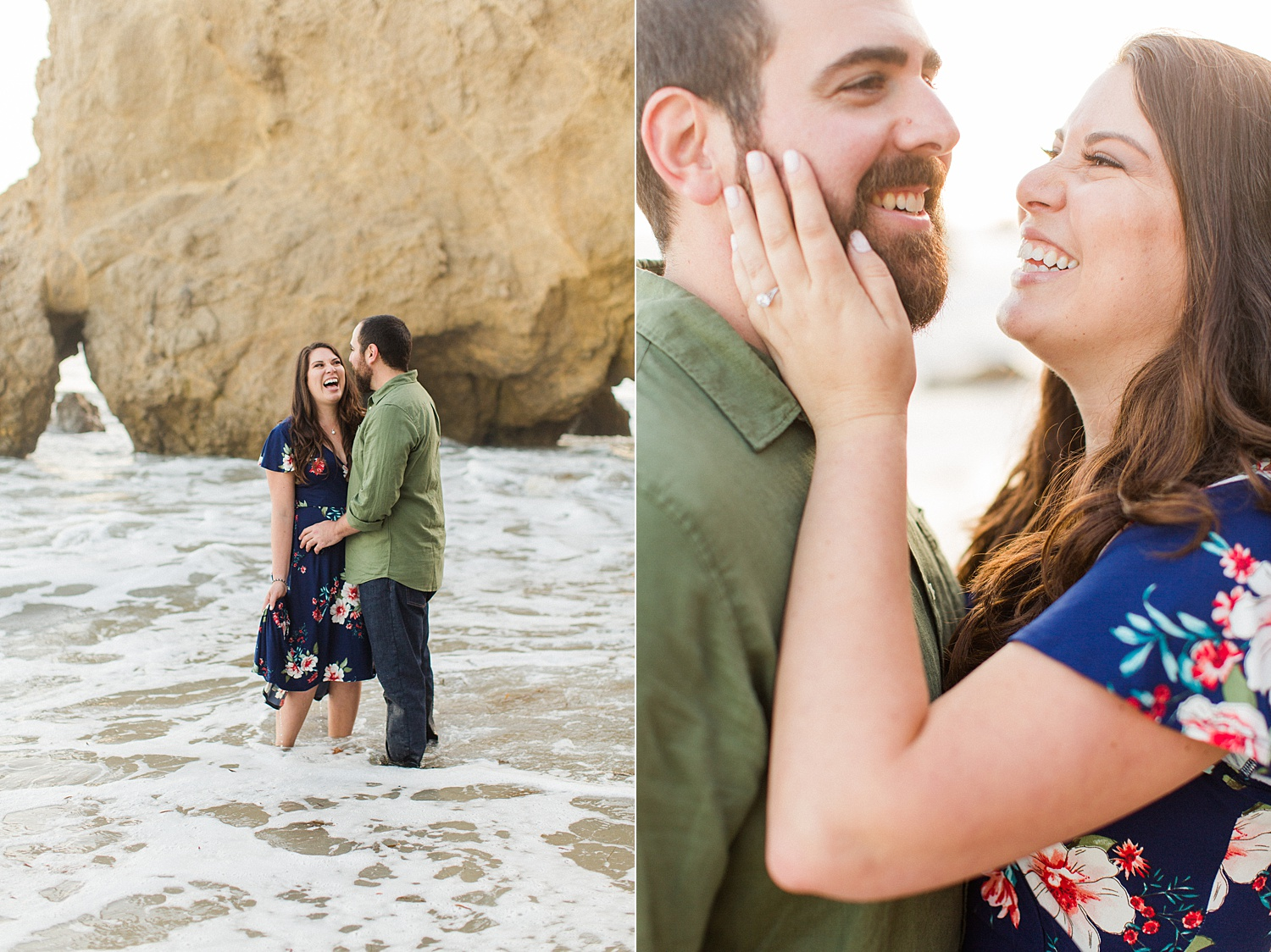 El Matador Beach Engagement | Malibu Wedding Photographer | The Vondys