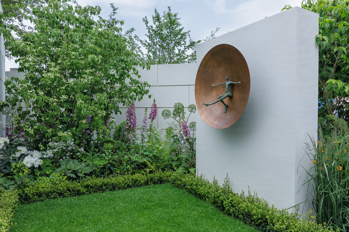 Illuminate at RHS Chelsea in Kate Gould's Show Garden.