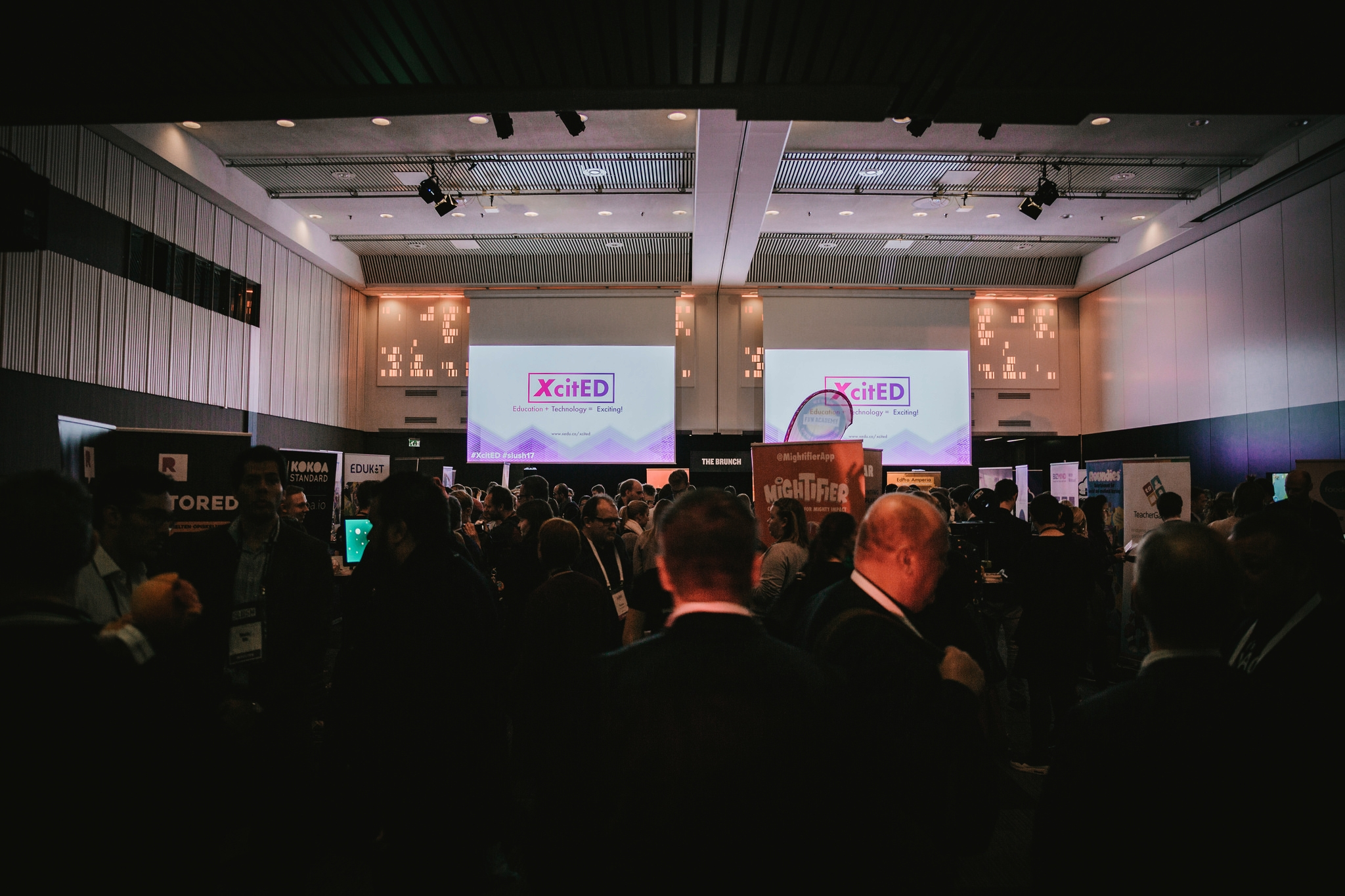XcitED in Numbers - - More than 1000 people visited the event.- More than 260 viewers joined XcitED online stream provided by Telia Digitalist TV.- #XcitED was among the Top hashtags on 30 November with more than a million impressions.