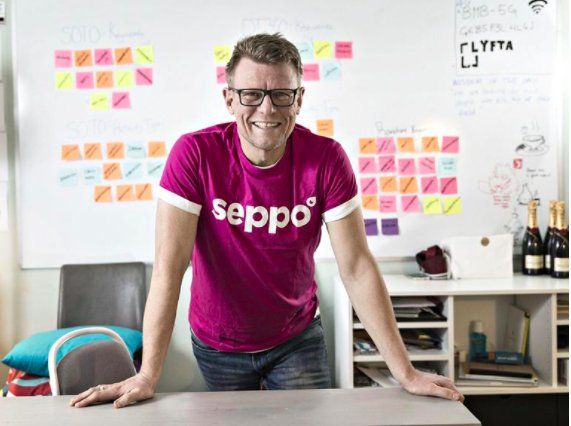 Riku Alkio, the CEO of Seppo. Photo credit: Lauri Olander