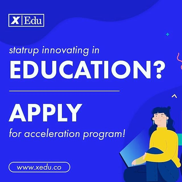 xEdu has opened the application period for the Fall 2019 program! If you are innovating in #education, apply by 31 July! www.xedu.co/apply  #edtech #edtechaccelerator #acceleration #education #startup #apply #futureofeducation #XcitED