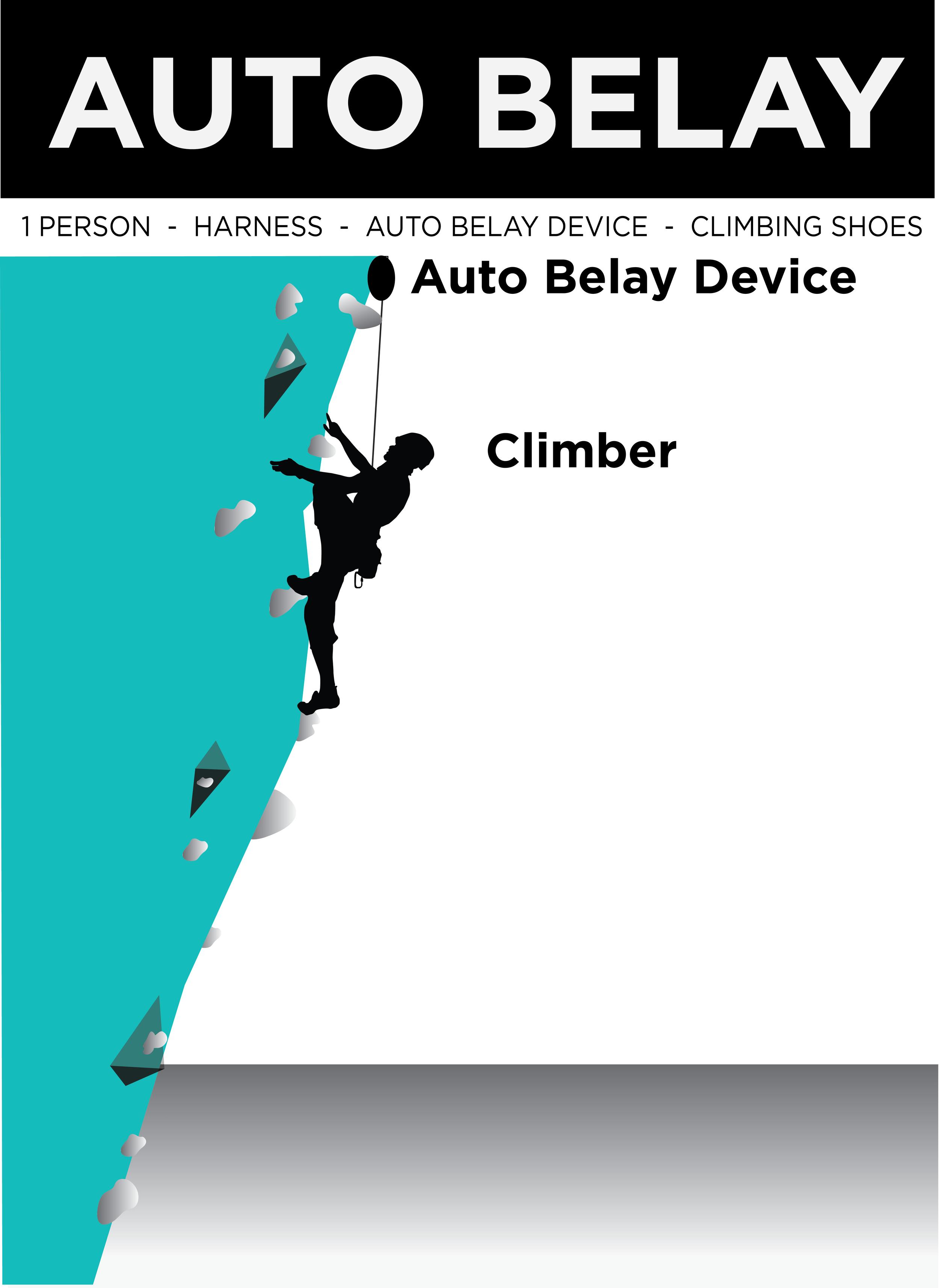 Auto Belay - Climb Tulsa