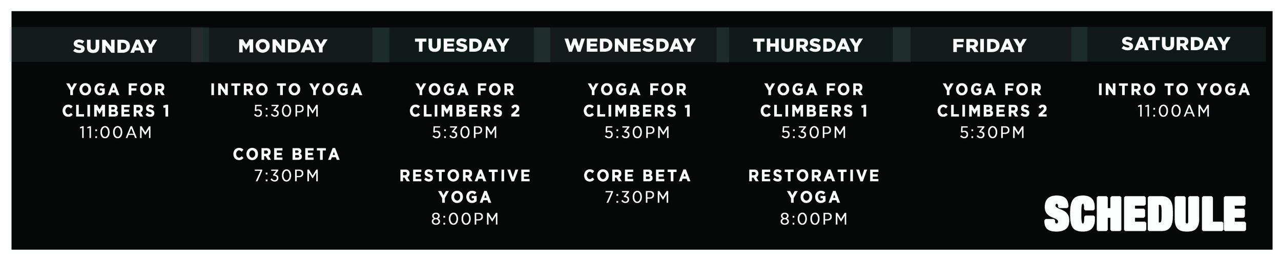 Yoga Climb Tulsa