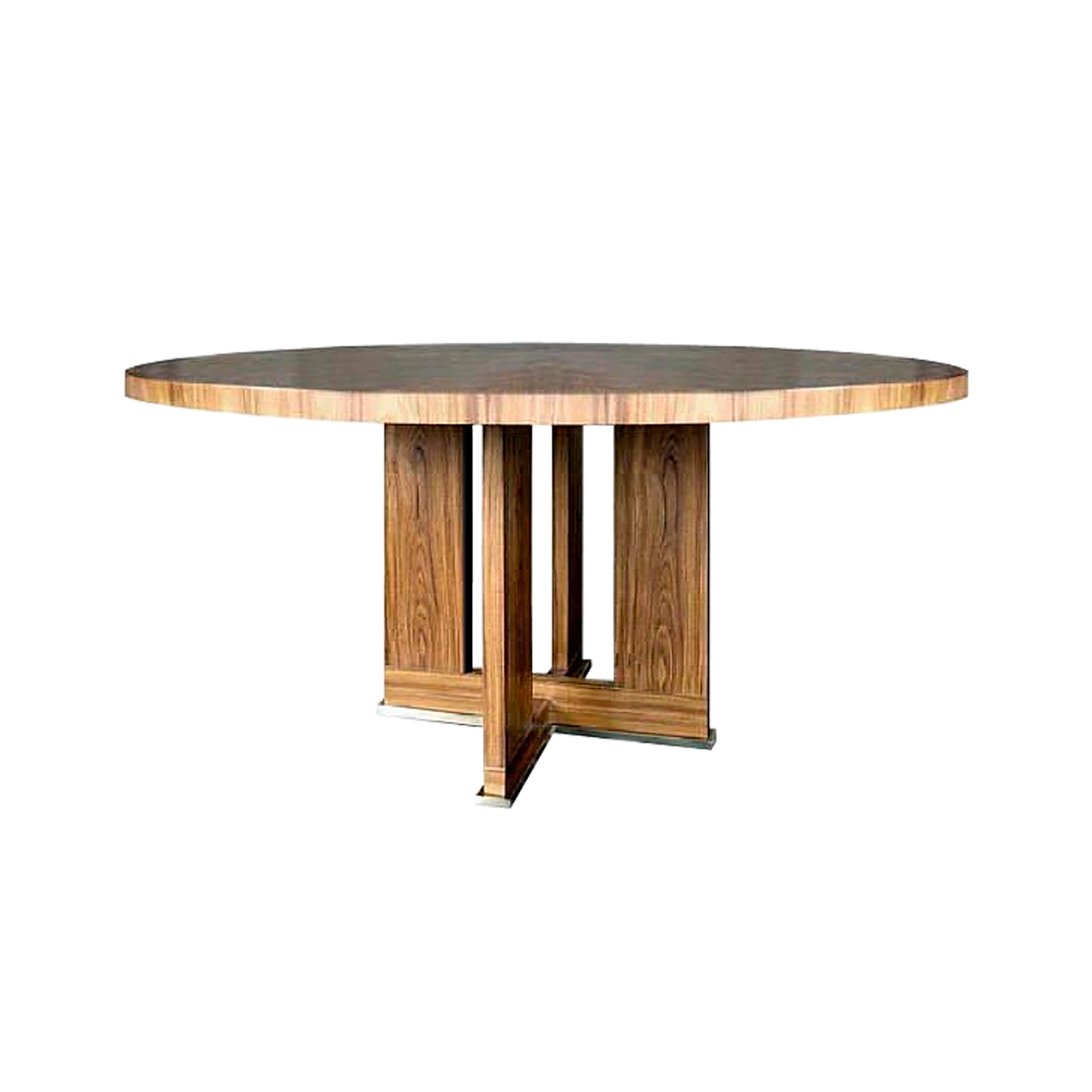 Wood Cross Center Table    more info