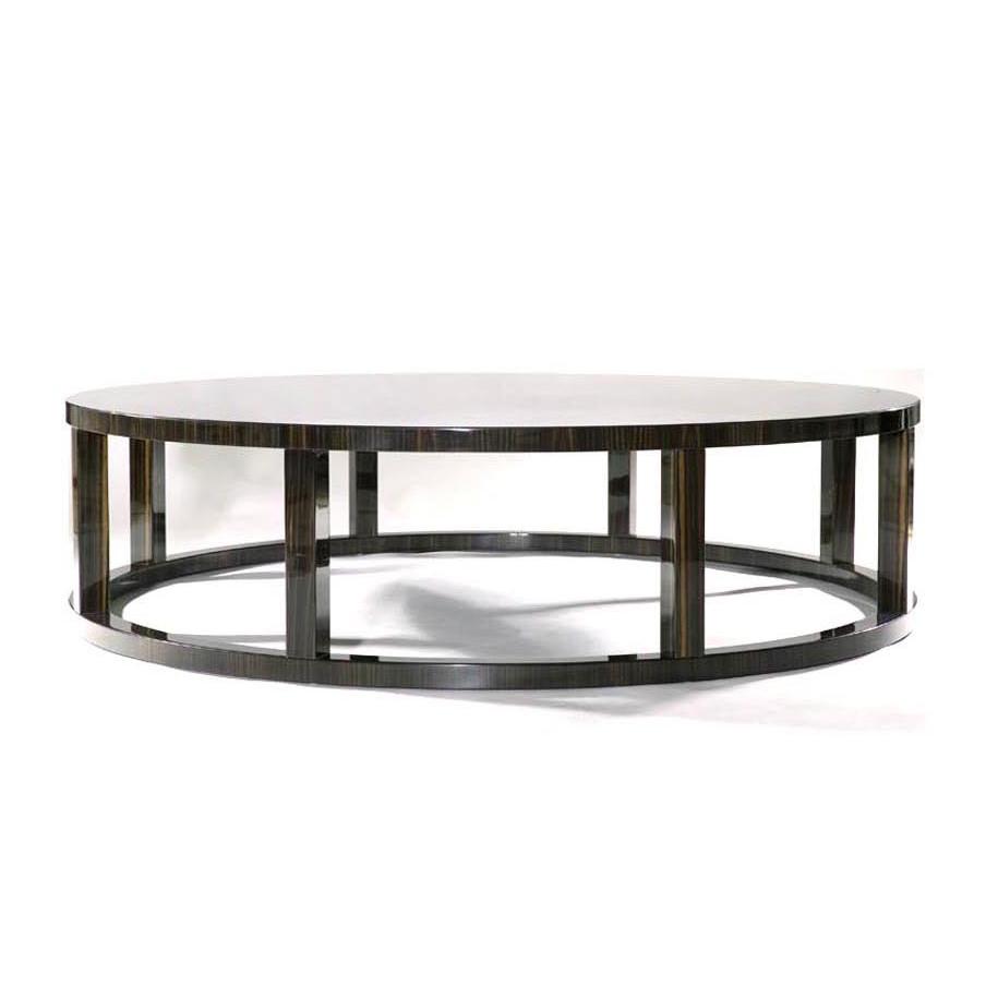 Macassar Ebony Ring Table     more info