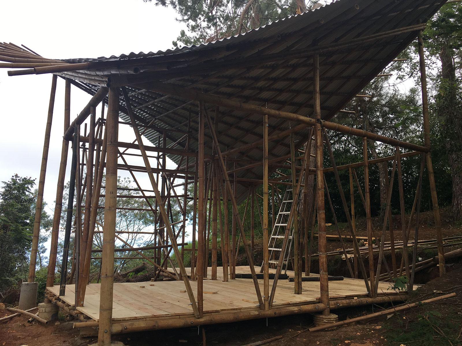 Bamboo House...