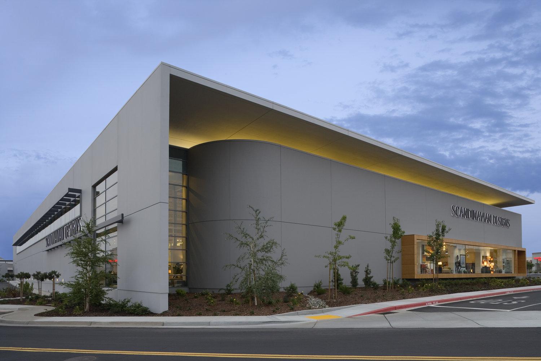 Scandinavian Designs Rocklin Retail Architecture Roth Sheppard