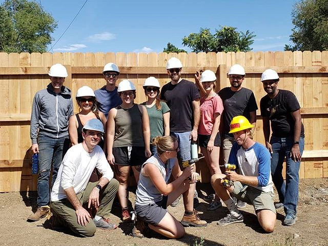 Our team had a great time at the @habitatdenver build this weekend!  #philanthropy #giving #service #architecting #archigram #construction #design #architect #denver #Colorado #goodworks #habitatforhumanity #build #team #teamwork #engineering