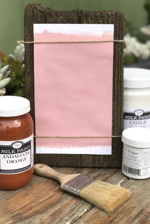 Antique Pink Milk Paint