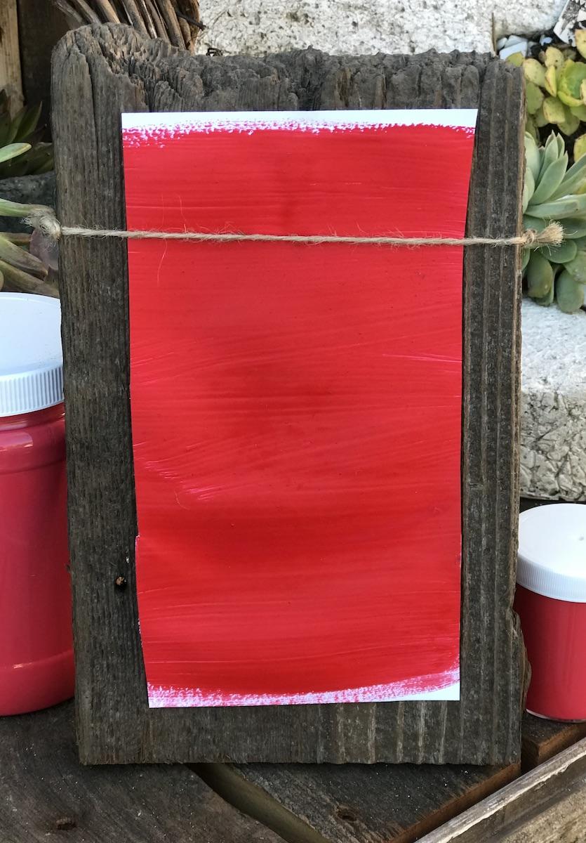 Taravat Vermilion Milk Paint