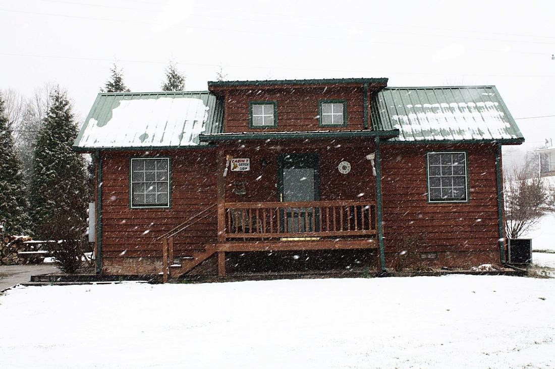 Catfish Cabin in winter