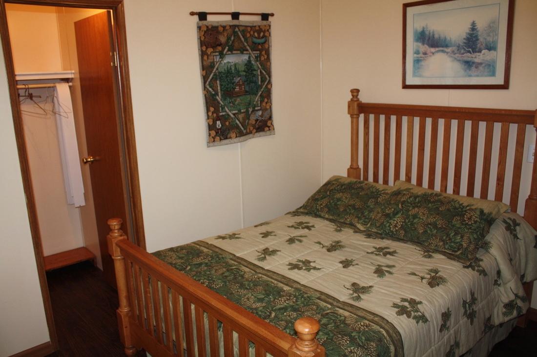 bedroom #3 w/full