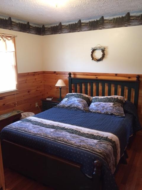 bedroom #2 w/queen