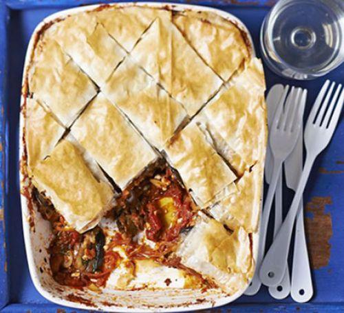 Aubergine, tomato & feta baklava.jpg