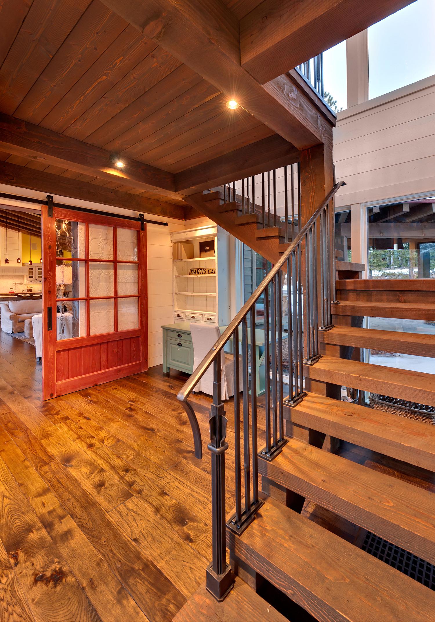 Lot 145_Staircase_Wood Paneling_Barn Door.jpg
