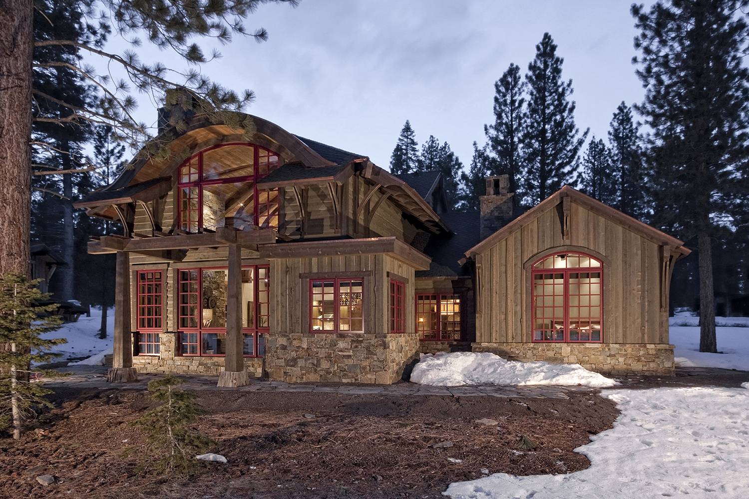 Lot 296_Exterior_Rear View_Arched Ceiling Highlight_masonry_Wood Siding.jpg
