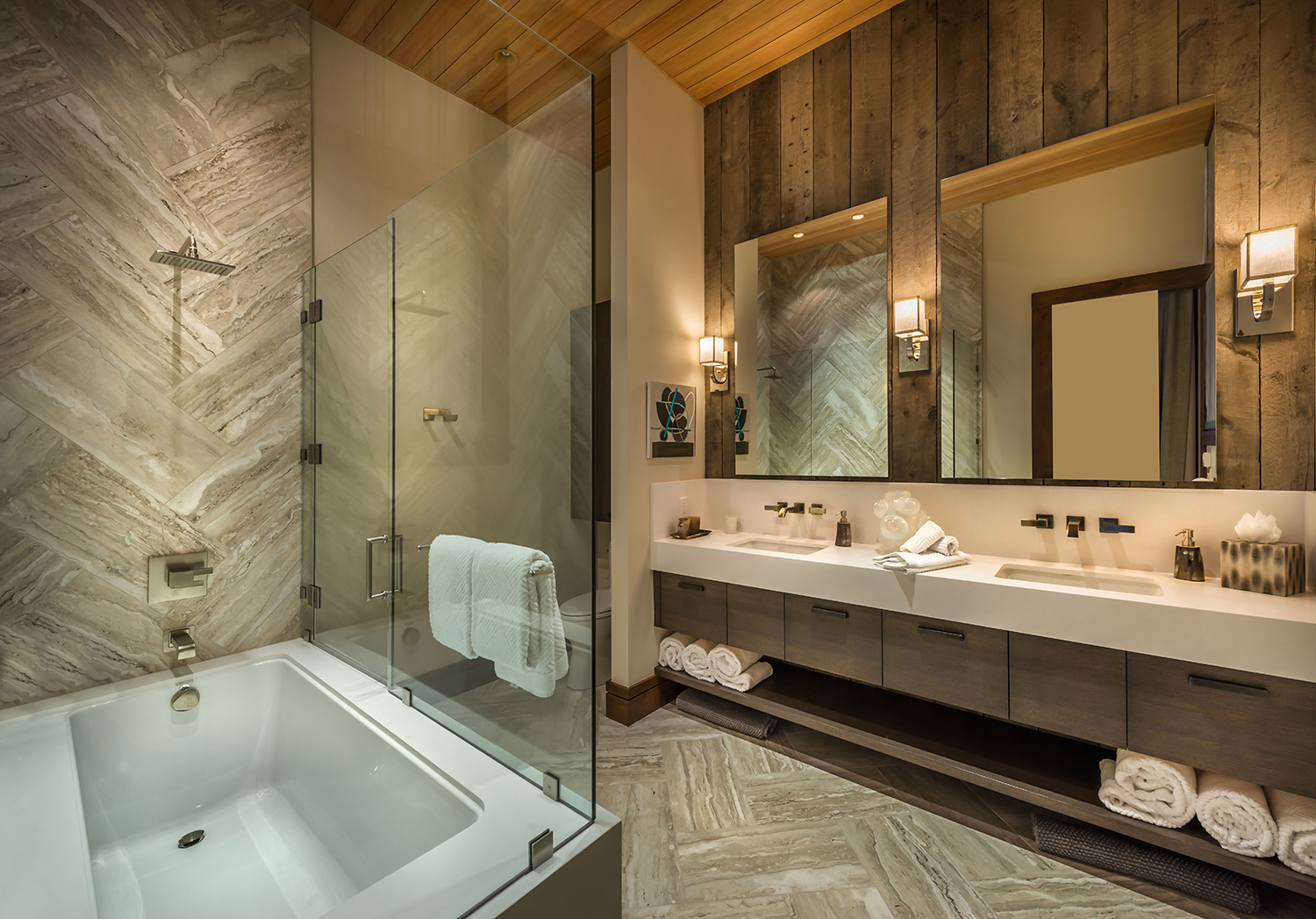 Lot 495_Guest Master Bath_Wood Paneling_Tile Herringbone.jpg