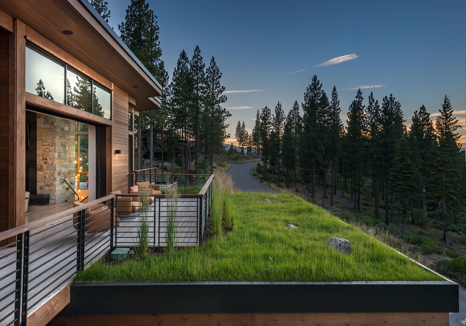 Lot 595_Exterior_Great Room Deck Side View_Weiland Doors_Grass Roof_.jpg