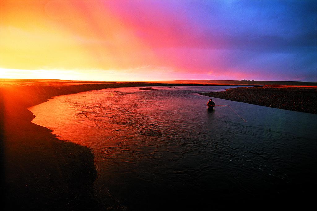 Sunset on Estancia Maria Behety in Terra del Fuego