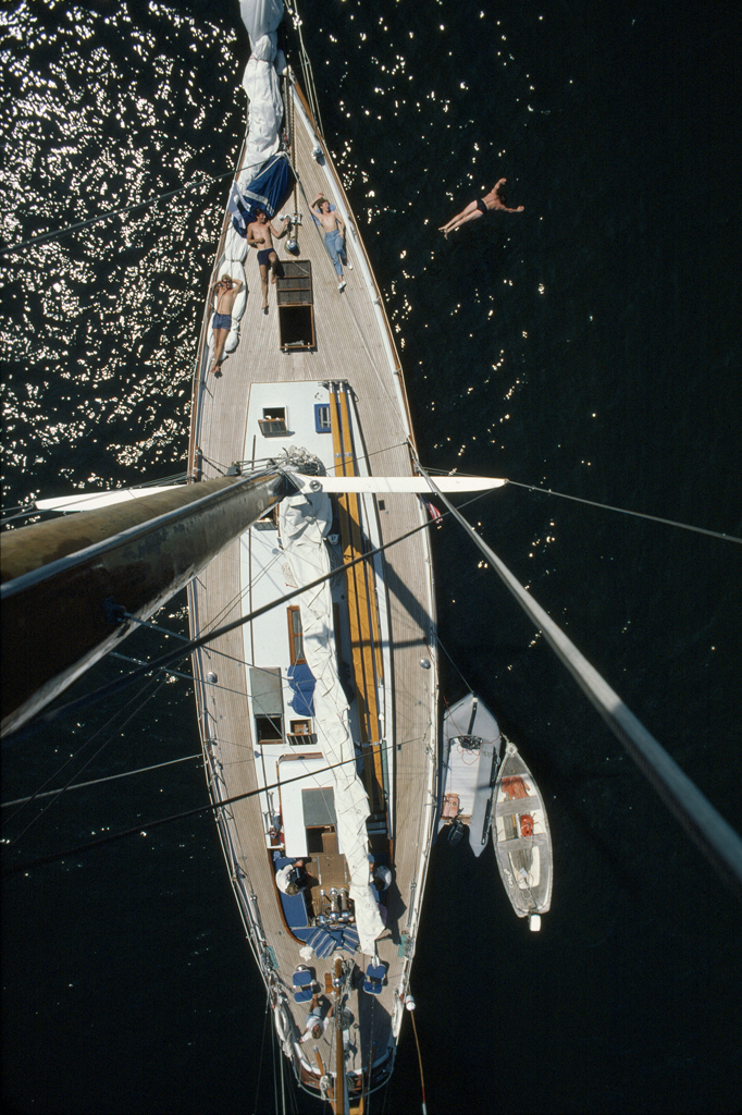 Sailboat in Maine for Yacht Magazine