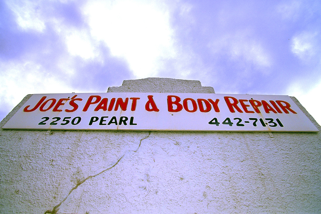 Joe's Paint & Body Shop | Boulder, Colorado