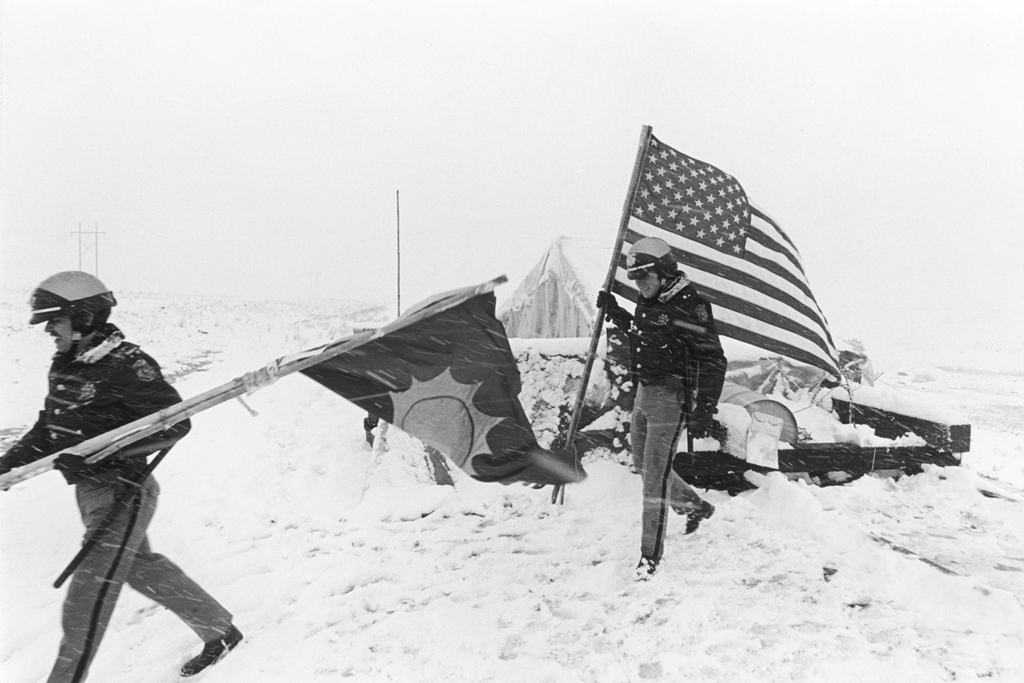 May 5, 1978: The freezing rain turns to snow and the beginning of a severe spring snowstorm. The Jefferson County Sheriff's Department has had enough. They tear down the Truth Force encampment and arrest all the protesters.