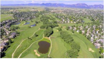 Coal Creek Golf Course Flyover