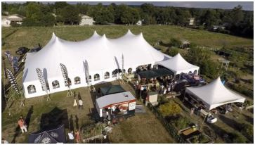Event Tent Flyover
