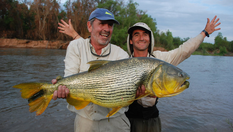 Angling for Gold in Argentina