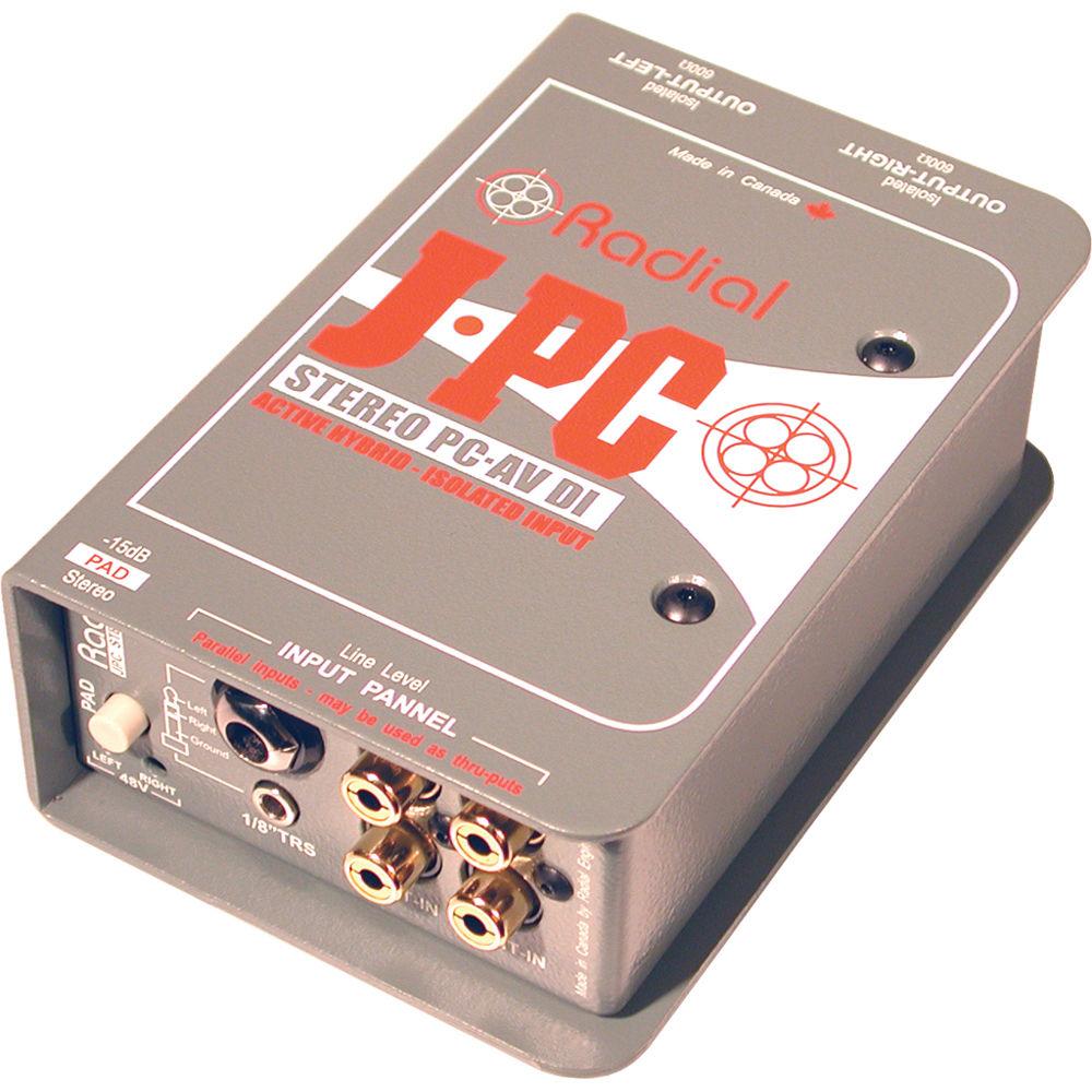 Radial J-PC