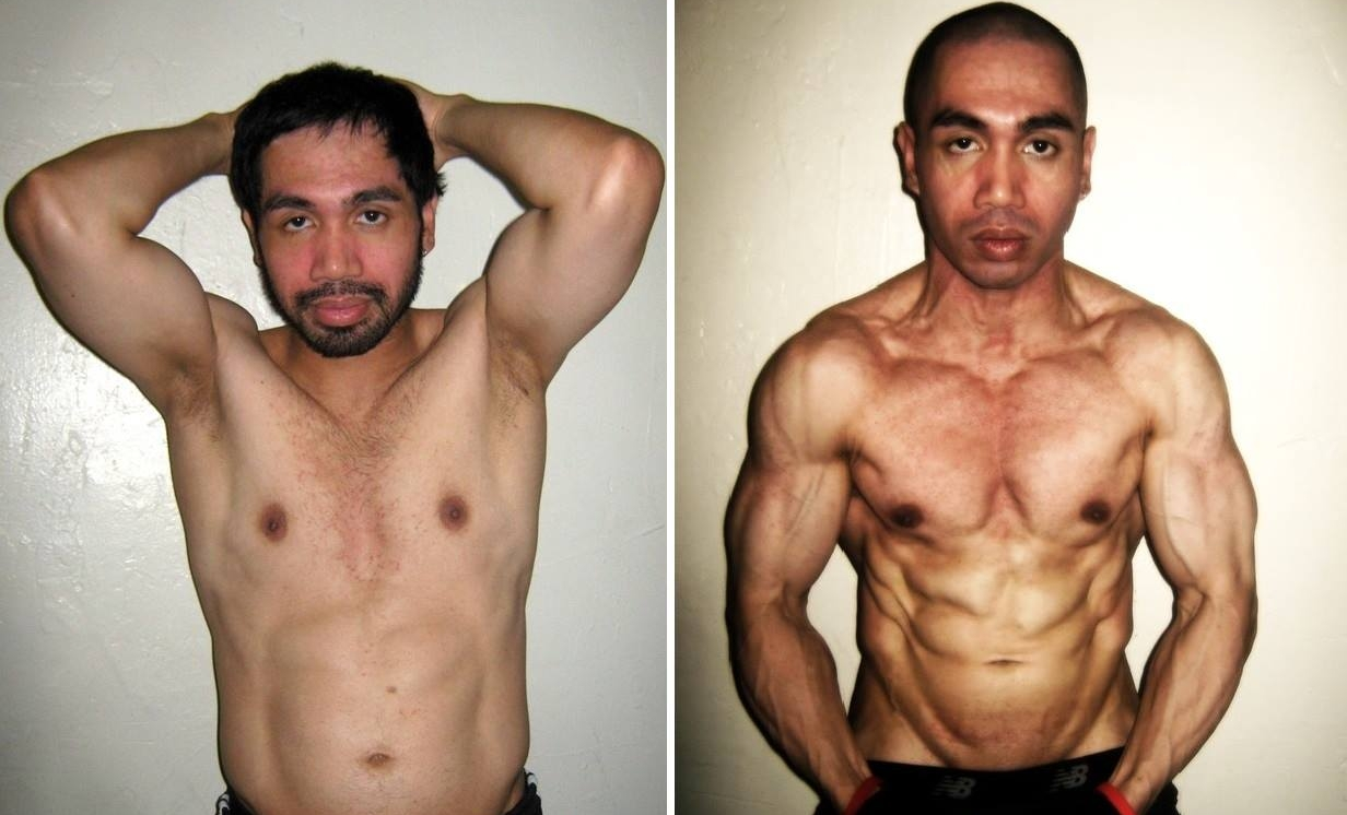 MJ Tamondong Shredded Beyond ABSolute Before and After Profile