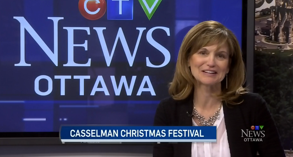 EN - CTV News at Noon in Ottawa with Michael O'Byrne -  Mental Health, and Casselman Santa Walk & Run 2016  | 2016 11 14