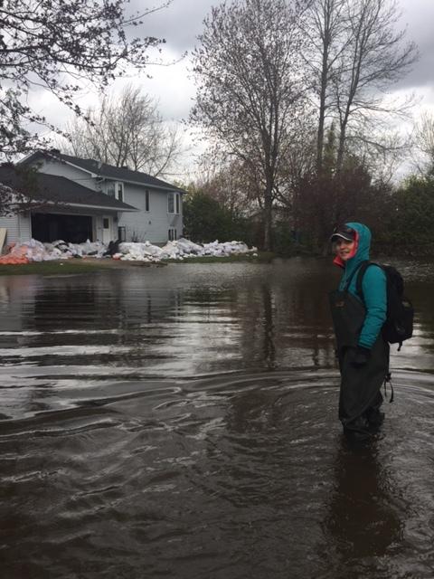 FR - Les Matins d'Ici avec Philippe Marcoux, Radio-Canada Ottawa-Gatineau -  Inondations et appui aux sinistrés  | 7h48 | 2017 05 11