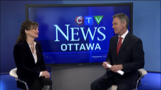 EN - CTV News at Noon in Ottawa with Michael O'Byrne -  Youth Mental Health, and Casselman Santa Walk & Run 2017  | 2017 11 17