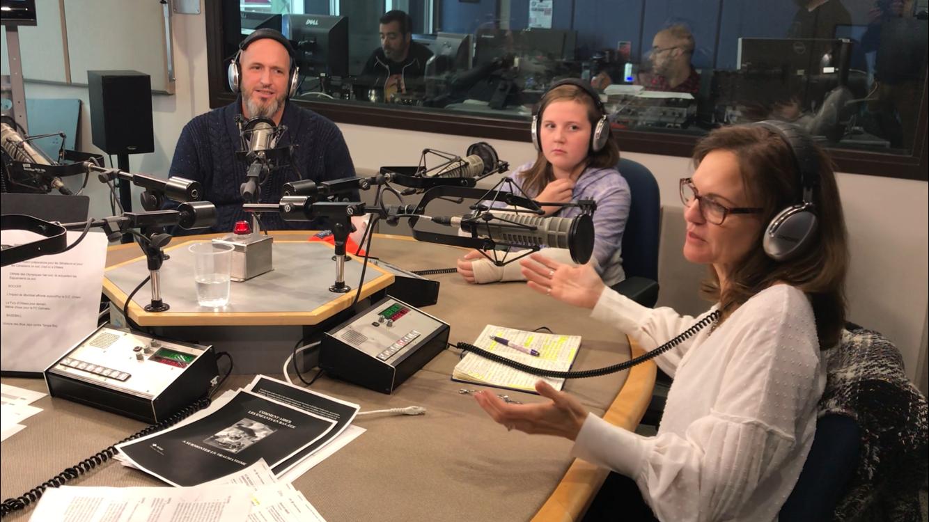 FR - Les Malins avec Jhade Montpetit, Radio-Canada Ottawa-Gatineau -  Guérir l'âme des ados après les tornades  | 2018 09 29 (10h08)