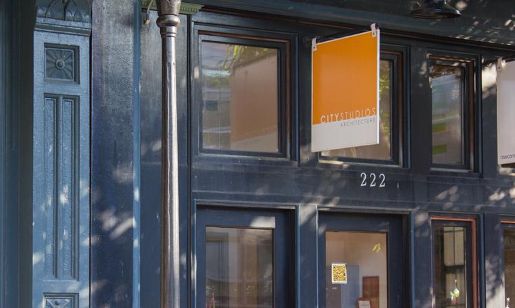 City Studios Architecture street entrance