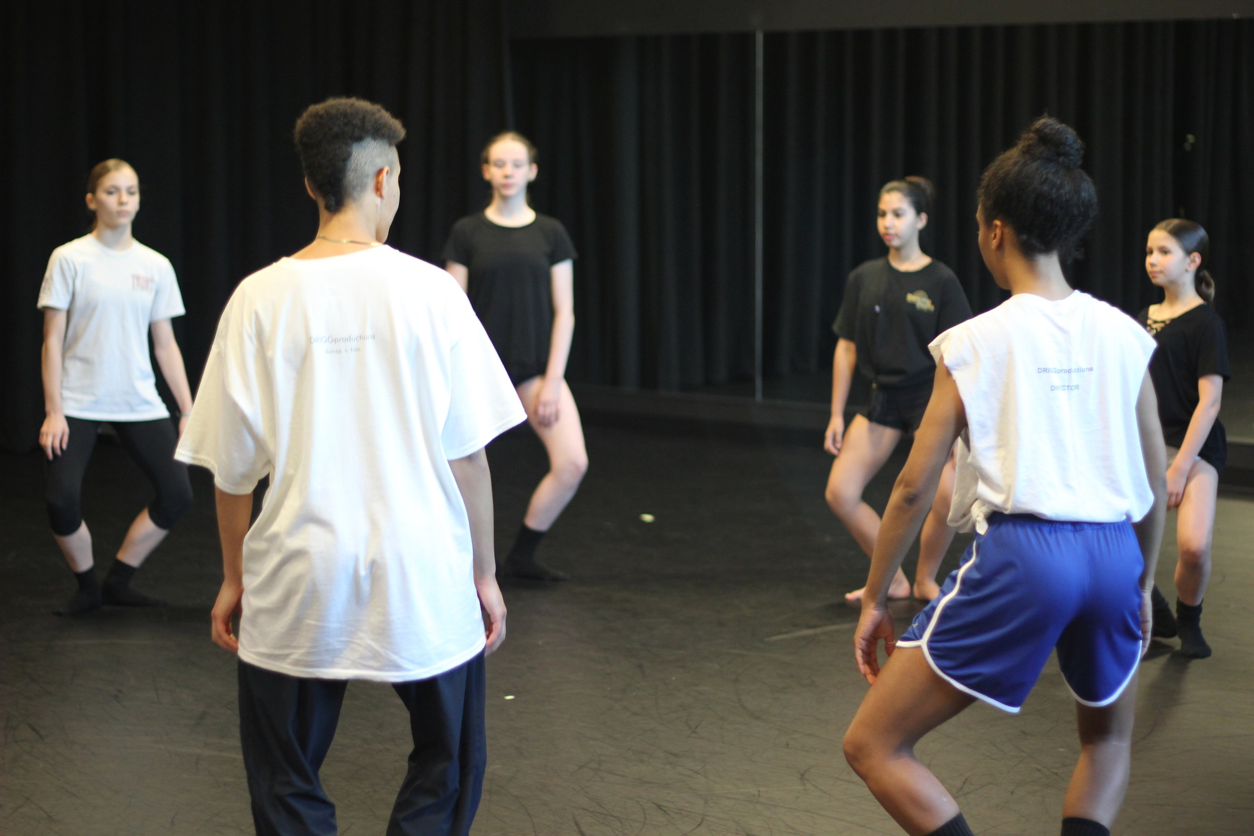 Class with Myssi Robinson,  freelance dance and visual artist    photo taken from the DRIGGproductions workshop