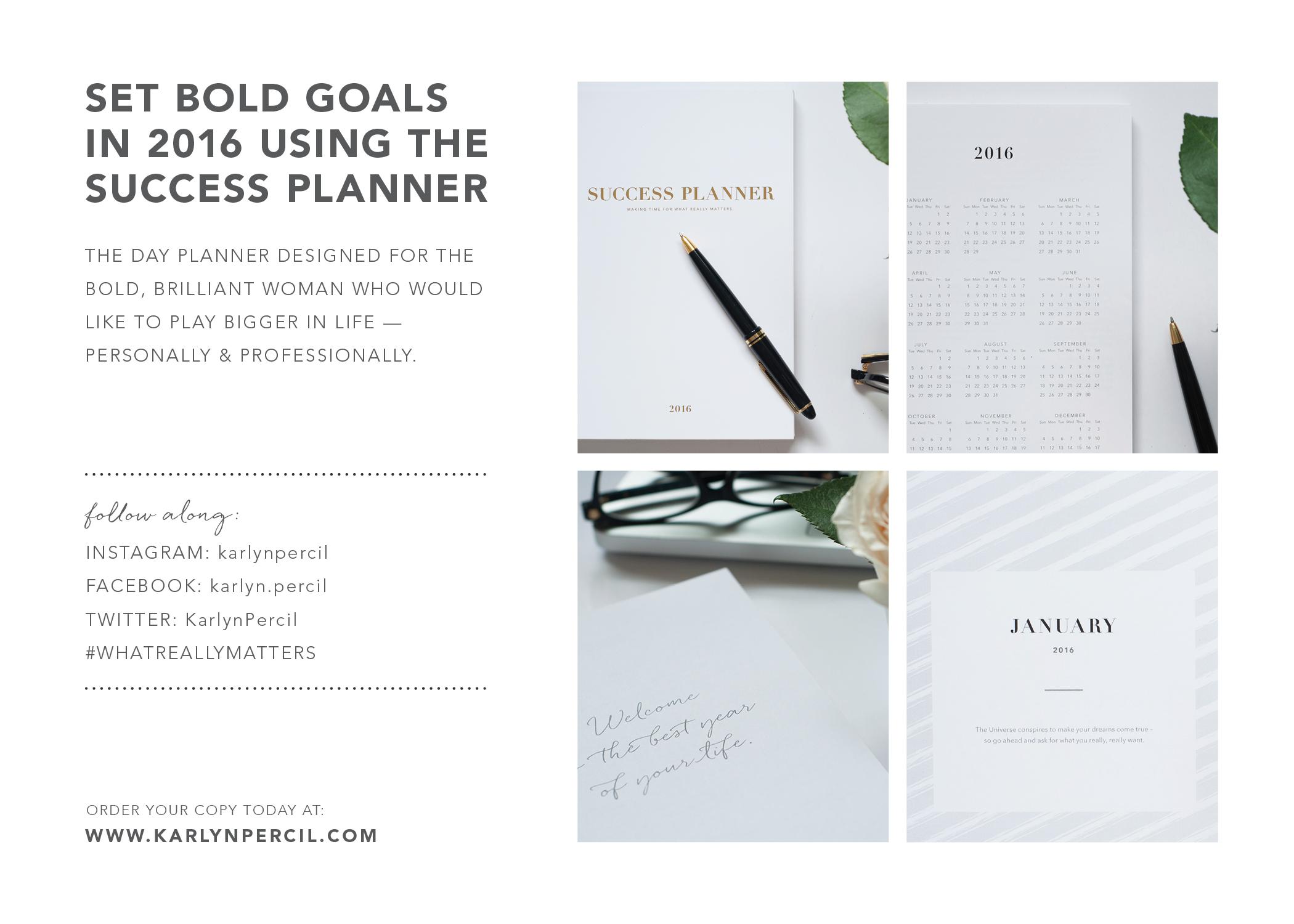success planner karlyn percil