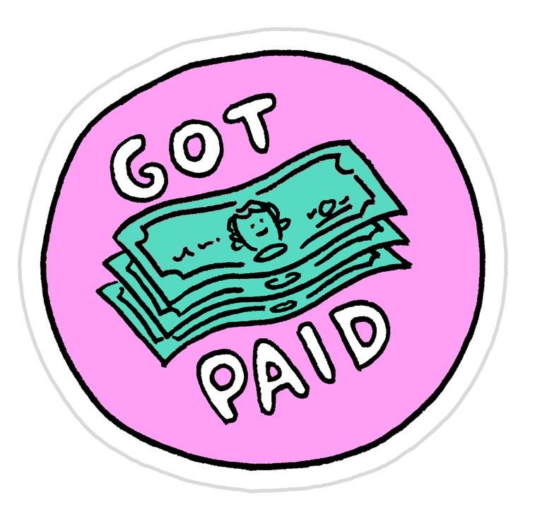 Freelance Achievement Stickers by  Jeremy Nguyen