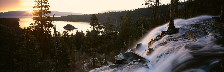 Eagle Falls Sunrise Panorama.jpg