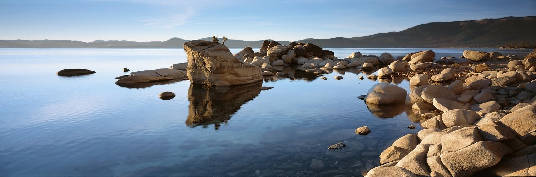 Bonsai Rock Panorama II, Lake Tahoe
