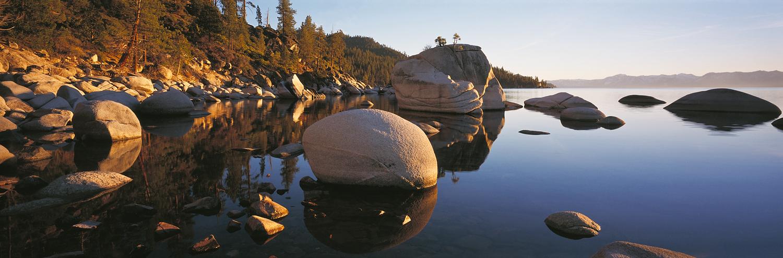 Bonsai Rock Panorama, Lake Tahoe